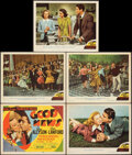 """Movie Posters:Musical, Good News (MGM, 1947). Fine/Very Fine. Title Lobby Card & Lobby Cards (4) (11"""" X 14""""). Musical.. ... (Total: 5 Item..."""