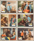 """Movie Posters:Film Noir, No Way Out (20th Century Fox, 1950). Very Fine+. Lobby Cards (6) (11"""" X 14""""). Film Noir.. ... (Total: 6 Items)"""