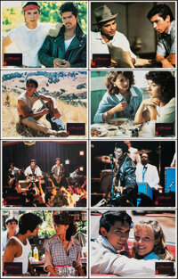 "La Bamba (Columbia, 1987). Overall: Very Fine/Near Mint. Mini Lobby Card Set of 8 (8"" X 10""). Drama. ... (Tota..."