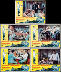 """Movie Posters:Comedy, The Odd Couple (Paramount, 1968). Very Fine+. Lobby Cards (5) (11"""" X 14"""") Robert McGinnis Border Artwork. Comedy.. ... (Total: 5 Items)"""