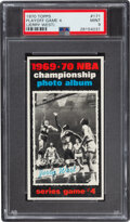 Basketball Cards:Singles (1970-1979), 1970 Topps Playoff Game 4 (Jerry West) #171 PSA Mint 9....