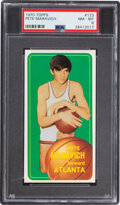 Basketball Cards:Singles (1970-1979), 1970 Topps Pete Maravich #123 PSA NM-MT 8....