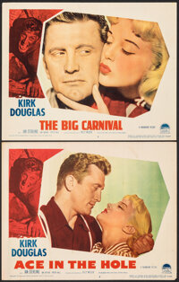 """Ace In The Hole (Paramount, 1951). Fine/Very Fine. Lobby Card (11"""" X 14""""). Film Noir. Working Title: The Big C..."""