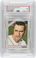 Baseball Cards:Unopened Packs/Display Boxes, 1966 Topps Baseball Cello Pack (7th Series) PSA NM 7 - Very Scarce High-Number Pack! ...