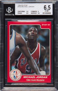 1984/85 Star Co. Michael Jordan #195 BGS EX-MT+ 6.5