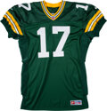 Football Collectibles:Uniforms, 1997 Craig Hentrich Game Worn Green Bay Packers Jersey....