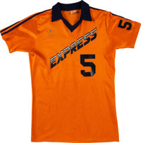 1978-80 Graham Oates Game Worn Detroit Express (NASL) Jersey from The Bill Fundaro Collection