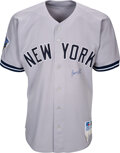 Baseball Collectibles:Uniforms, 1998 Bernie Williams World Series Worn & Signed New York Yankees Jersey & Pants with Steiner Sports COA....