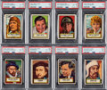 Non-Sport Cards:Sets, 1952 Topps Look 'N See Complete Set (135) With Babe Ruth PSA 7. ...