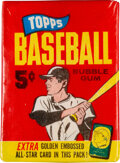 Baseball Cards:Unopened Packs/Display Boxes, 1965 Topps Baseball 5-Cent Unopened Wax Pack. ...
