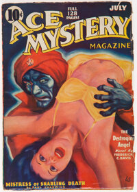 Ace Mystery - July 1936 (Ace) Condition: GD/VG