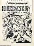Original Comic Art:Covers, Jack Sparling - Unearthly Spectaculars #1 Cover Unpublished VersionOriginal Art (Harvey, 1965). Jack Sparling unleashed thi...