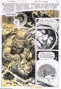"Original Comic Art:Splash Pages, Jack Sparling - G.I. Combat #170, complete 6-page story, ""EveryBattle...Y' Die A Little"" Original Art (DC, 1974). Every war..."