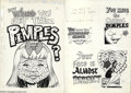 Original Comic Art:Sketches, Wally Wood - Topps Nasty Notes #8 Original Art (Topps, 1967). Some of the lowest, meanest collectibles to ever hit the marke...