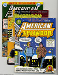 """Bronze Age (1970-1979):Alternative/Underground, American Splendor #2-4 Group (Harvey Pekar, 1977-79) Condition: Average NM. The foremost proponent of the """"slice of life"""" co... (Total: 3 Comic Books Item)"""