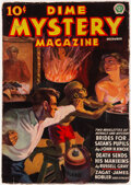 Pulps:Horror, Dime Mystery Magazine - December 1937 (Popular) Condition: FN....