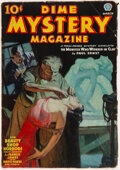 Pulps:Horror, Dime Mystery Magazine - March 1937 (Popular) Condition: VG+....