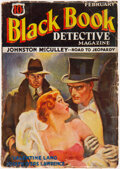 Pulps:Detective, Black Book Detective - February 1934 (Better Publications) Condition: VG....