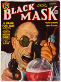Pulps:Detective, Black Mask - January 1944 (Fictioneers Inc.) Condition: FN/VF....