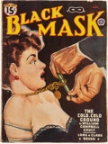Pulps:Detective, Black Mask - January 1947 (Fictioneers Inc.) Condition: VG....