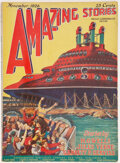 Pulps:Science Fiction, Amazing Stories - November 1926 (Ziff-Davis) Condition: VG....