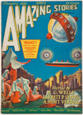 Pulps:Science Fiction, Amazing Stories - December 1926 (Ziff-Davis) Condition: VG....