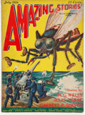 Pulps:Science Fiction, Amazing Stories - July 1926 (Ziff-Davis) Condition: VG+....