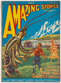 Pulps:Science Fiction, Amazing Stories - October 1926 (Ziff-Davis) Condition: VG....