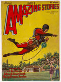 Pulps:Science Fiction, Amazing Stories - August 1928 (Ziff-Davis) Condition: VG+....
