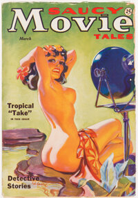 Saucy Movie Tales - March 1936 (Movie Digest) Condition: VG+