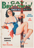 Pulps:Miscellaneous, Gay Broadway - Fall 1936 (D. M. Publishing Co.) Condition: VG....