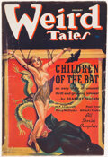 Pulps:Horror, Weird Tales - January 1937 (Popular Fiction) Condition: VG+....