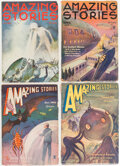 Pulps:Science Fiction, Amazing Stories Group of 15 (Ziff-Davis, 1933-43) Condition: Average VG/FN.... (Total: 15 Items)