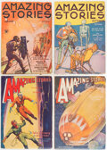 Pulps:Science Fiction, Amazing Stories Group of 6 (Ziff-Davis, 1934-39) Condition: Average FN/VF.... (Total: 6 Items)