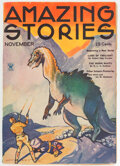 Pulps:Science Fiction, Amazing Stories - November 1934 (Ziff-Davis) Condition: VF....