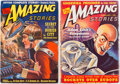 Pulps:Science Fiction, Amazing Stories Group of 2 (Ziff-Davis, 1939-40) Condition: Average VF.... (Total: 2 Items)