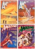 Pulps:Science Fiction, Amazing Stories Group of 11 (Ziff-Davis, 1935-43) Condition: Average FN.... (Total: 11 Items)
