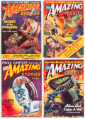Pulps:Science Fiction, Amazing Stories Group of 6 (Ziff-Davis, 1939-46) Condition: Average FN/VF.... (Total: 6 Items)