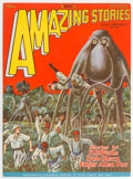 Pulps:Science Fiction, Amazing Stories - May 1928 (Ziff-Davis) Condition: VF....