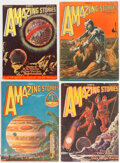 Pulps:Science Fiction, Amazing Stories Group of 8 (Ziff-Davis, 1928-31) Condition: Average FN-.... (Total: 8 Items)