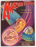 Pulps:Science Fiction, Amazing Stories - August 1930 (Ziff-Davis) Condition: VF....