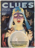 Pulps:Detective, Clues Detective Stories - July 1939 (Street & Smith) Condition: FN....