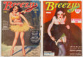 Pulps:Romance, Breezy Stories Group of 2 (Young, 1935-44).... (Total: 2 Items)