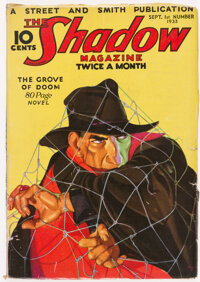 The Shadow - September 1, 1933 (Street & Smith) Condition: VG