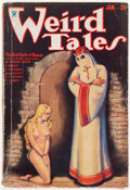 Pulps:Horror, Weird Tales - January 1934 (Popular Fiction) Condition: VG-....