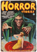 Pulps:Horror, Horror Stories - February 1935 (Popular) Condition: Apparent VG-....