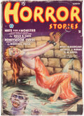 Pulps:Horror, Horror Stories - March 1935 (Popular) Condition: VG....