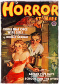 Pulps:Horror, Horror Stories - August 1938 (Popular) Condition: VG+....