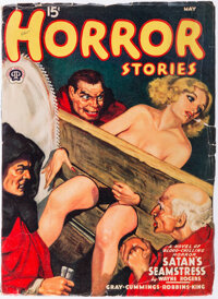Horror Stories - May 1940 (Popular) Condition: VG