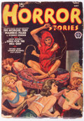 Pulps:Horror, Horror Stories - April/May 1939 (Popular) Condition: VG....